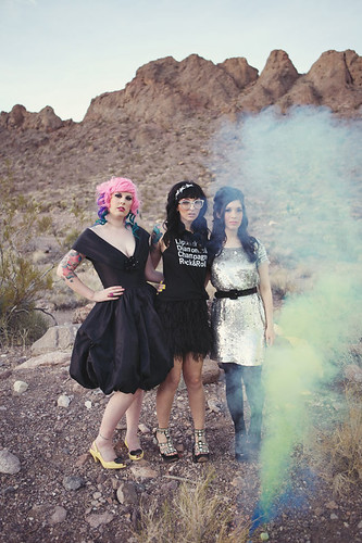 Sequins and Smoke Bombs: Nelson, Nevada