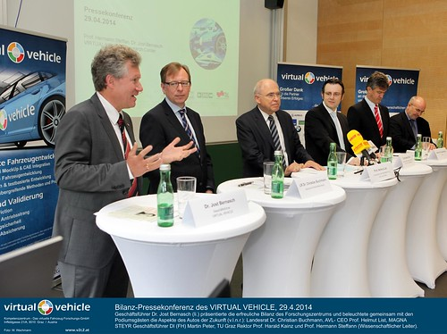 VIRTUAL VEHICLE Bilanz-Pressekonferenz