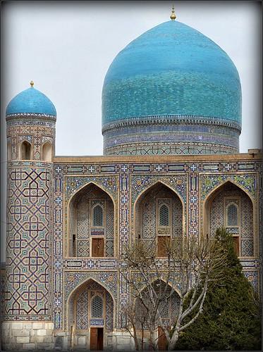 Madrasa Tilla Kari, place du Registan