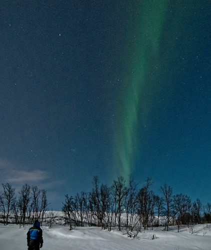 Northern light, 6th of March 2012