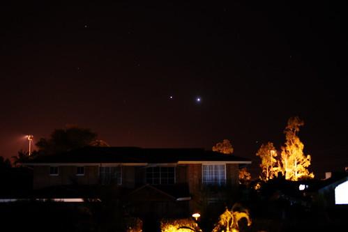 Júpiter y Venus 1