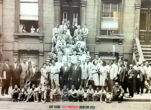 Art Kane Jazz Portrait Harlem 1958