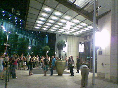 Rolling Stones in Berlin, day after the show at Ritz Carlton Hotel