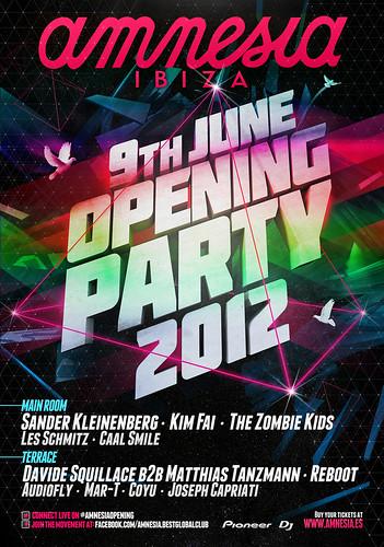 Amnesia Ibiza Opening Party 2012