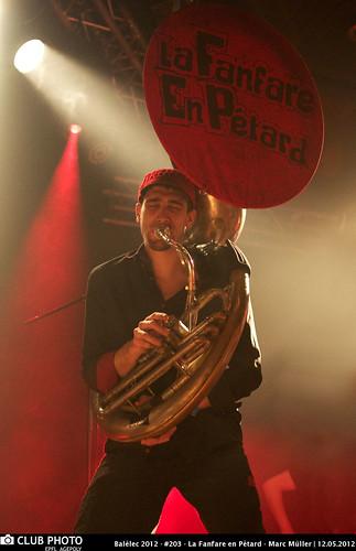 Balélec 2012 - #203 - La Fanfare en Pétard - Marc Müller