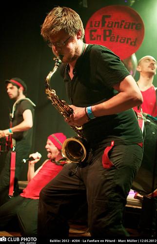 Balélec 2012 - #204 - La Fanfare en Pétard - Marc Müller