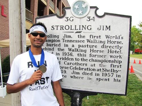 34th Annual Strolling Jim 40 Mile Run, Wartrace, Tenn., May 5, 2012