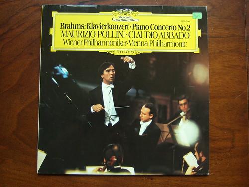 Brahms - Piano Concerto No.2 op.83 - Maurizio Pollini, Wiener Phil., Claudio Abbado, DGG 2530 790