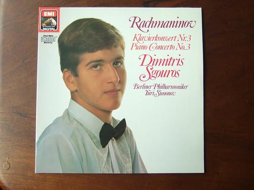 Rachmaninov - Piano Concerto No.3 op.30 - Dimitris Sgouros Piano, Berliner Phil., Yuri Simonov, EMI Teldec 1C 067, 27 0020 1, 1984, Digital