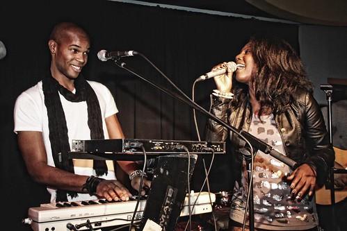 Medjy Toussaint et Katia Cadet
