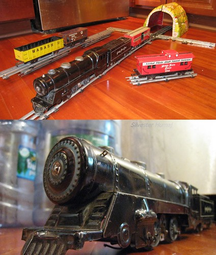 Marx RR toy train
