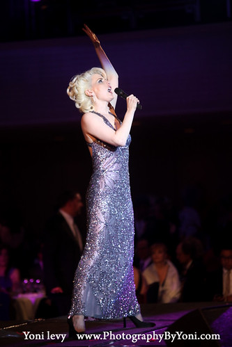 Musician Sarah Atereth Sing  the 26th annual Night Of A Thousand Gowns at the Marriott Marquis Times Square on March 31, 2012 in New York City Photographer Yoni Levy