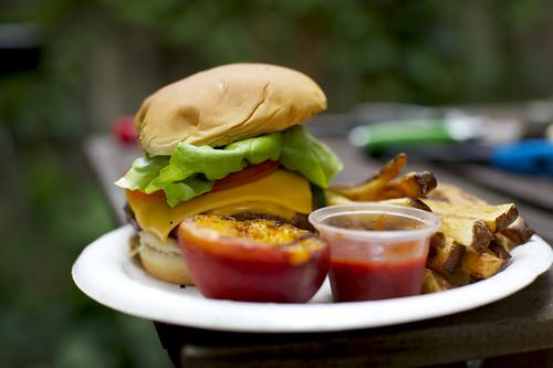 Short Rib Cheeseburger