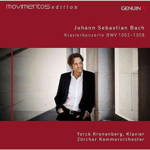 J.s. Bach Piano Concertos Bwv 1052-1058 -movimentos Edition- Yorck Kronenberg Genuin