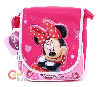 Disney Minnie Mouse School Lunch Snack Bag