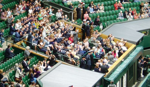 Sporting Superstars & Cliff Richard on Centre Court
