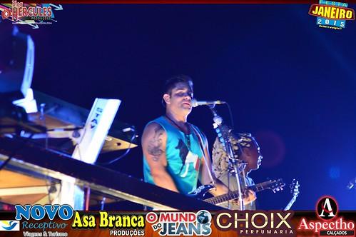 5° Noite Festa de Janeiro 2015  fechando com chave de ouro Banda Chicabana!