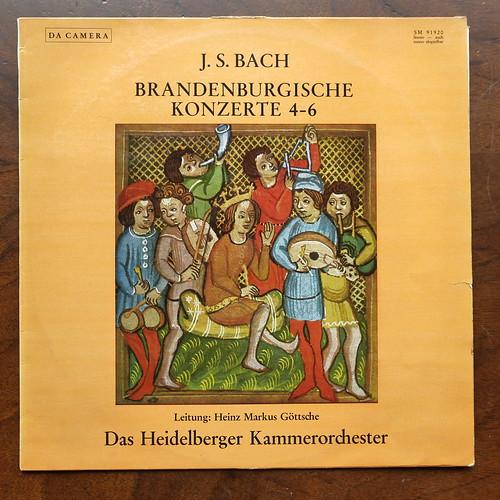 Bach - Brandenburg Concertos No.4-6 - Heidelberger Kammer Orch., Heinz Markus Gottsche, Sastruphon Da Camera SM 91920