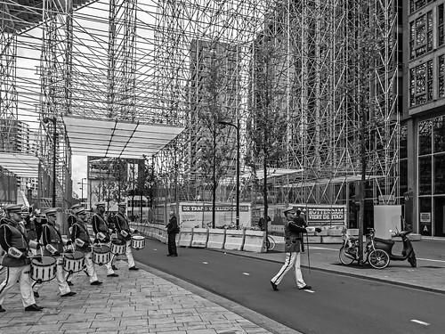 Opening van 'De Trap' met Euroband - City of Rotterdam