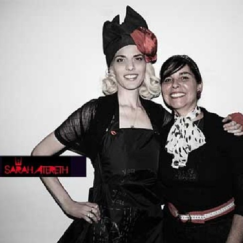 Sarah Atereth Mona Lucero Red Ball #music #dance#sarahatereth