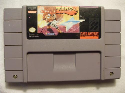 SNES Zero The Kamikaze Squirrel