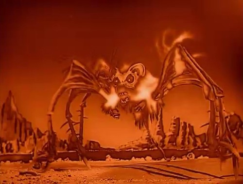 The Angry Red Planet (American International, 1959). Screen Shots.