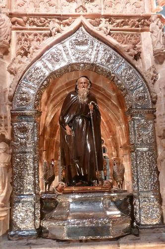 Santo Domingo de la Calzada - le saint dans la cathédrale