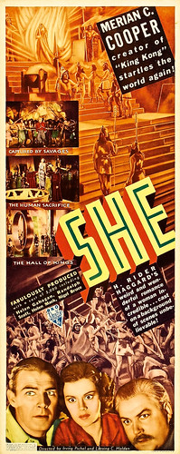 She (RKO, 1935). Insert (14