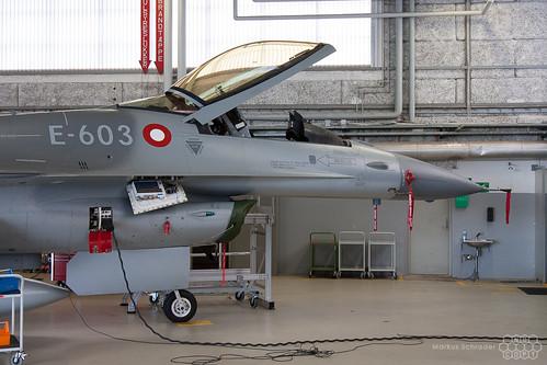 F-16AM E-603 Royal Danish Air Force