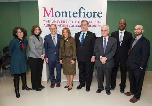 Montefiore Medical Center Ribbon Cutting Ceremony - 02.04.15