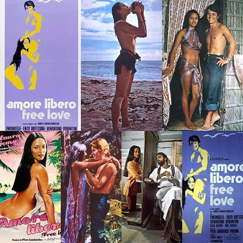 1974 ... Amore libero - Free Love Also Known As (AKA)  France Amour libre Greece (transliterated) Eleftheros erotas USA (DVD title) The Real Emanuelle  Release Dates  Italy 14 August 1974   Directed by Pier Ludovico Pavoni  Music by Fabio Frizzi  Writing
