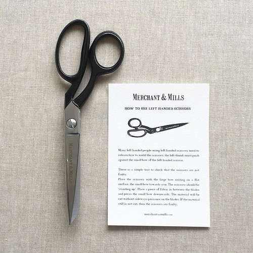 Gorgeous @merchantandmills scissors arrived this week. Lefties, we have a dream pair for you too! #merchantandmills