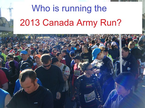 2013 Canada Army Run: local half-marathon runners  (page 2 of 2)