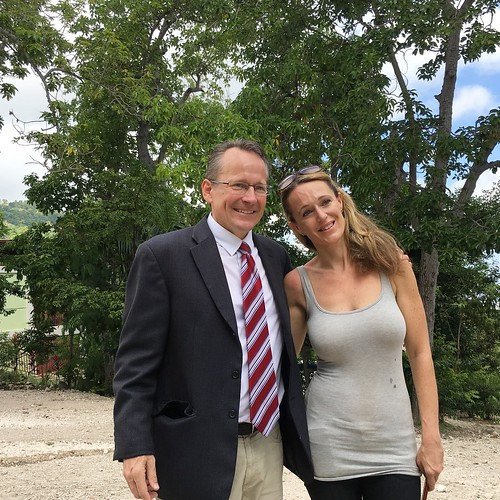 john with Sara Wasserman