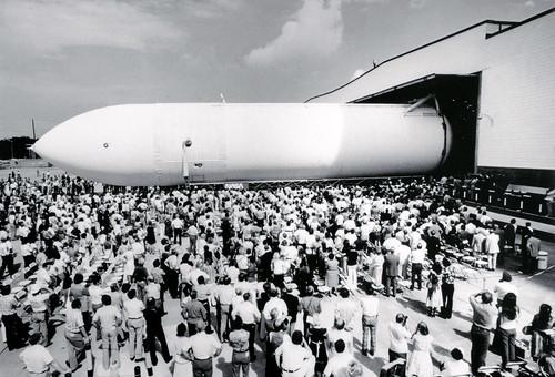 The First Space Shuttle External Tank