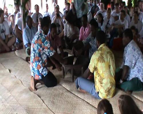 Village Welcome - Yagona ceremony 1 ----