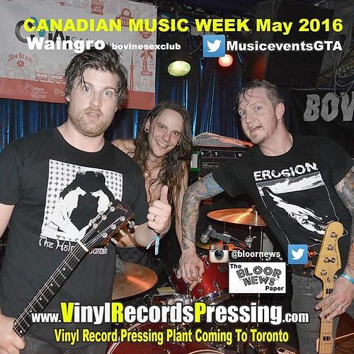 Vinyl Record Pressing Plant Coming To Toronto http://vinylrecordspressing.com   #nxne #nxne2016 #indiemusic #TorontoMusicScene #Toronto #bovinesexclub #waingro #musictoronto    canadianmusicweek weareabco waingrovancouver mikeruckus @nicktsiaousis @_waing