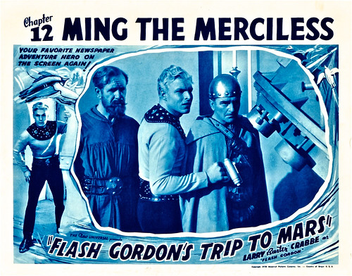 Flash Gordon's Trip to Mars (Universal, 1938). Lobby Card (11