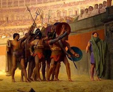 Ave Caesar Morituri te Salutant