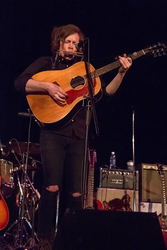 Kalle Mattson @ Festival Hall. 2016 Calgary Folk Music Festival.