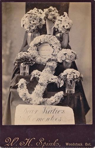 Dear Katie's Mementoes, Canadian Albumen Cabinet Card, September 1887