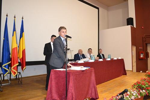 Ședința de constituire a Consiliului local al municipiului Gherla