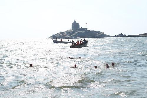 Vivekananda Swimming Rally