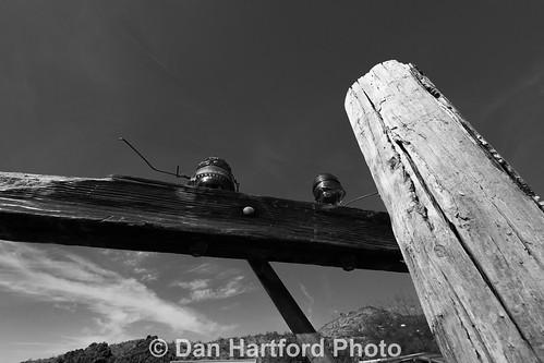 Telephone Pole, Oatman, AZ