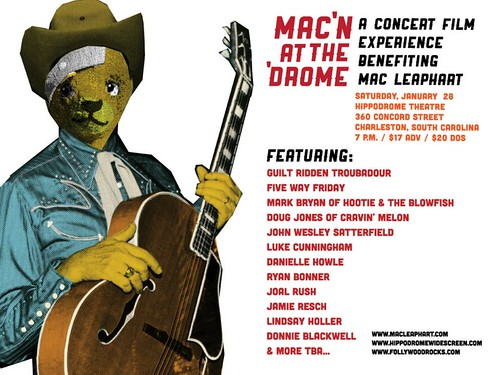 Mac Leaphart benefit flyer