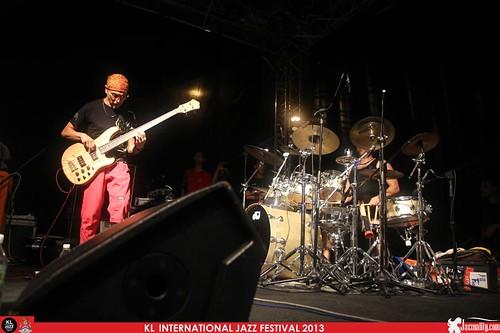 KLIJF 2013 - Kazutoki Umezu Kiki Band (3)
