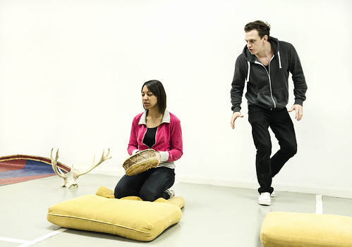 Glamping R&D - Zara Tempest Walters and Mark Halgate. Photo Pooch Purtill