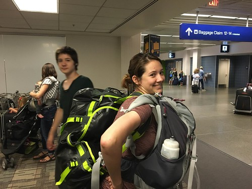 Grace's return from the Amazon