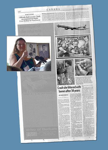 FLIGHT 621 ::: LINDA PARTRIDGE, TOM STONE, and the NATIONAL POST Article That Almost Wasn't