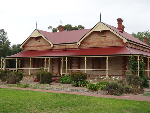 Paralowie House 1894 overlooking the Little Para River.